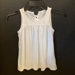Girls Children's Place white tank top. Size 7/8
